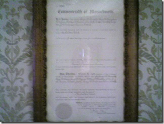 1895 Declaration of Dalton Club's Founding