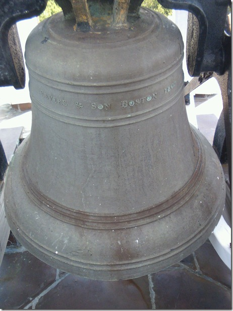 Paul Revere Bell Upclose