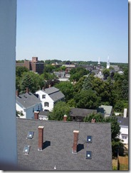 View from old South Steeple Five