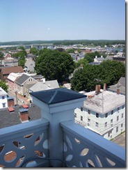 View from old South Steeple Four