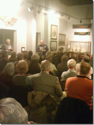 Packed house at chmm