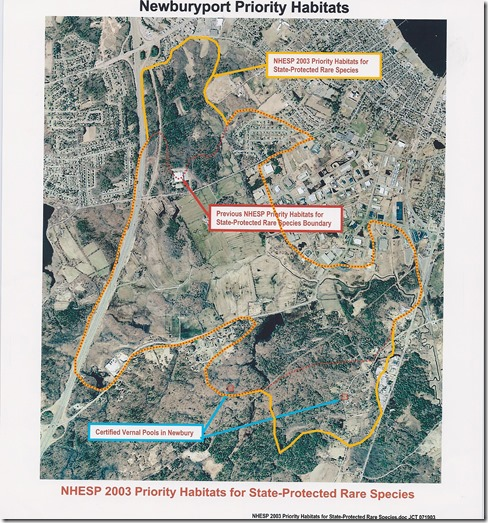 Newburyport Priority Habitat Areas