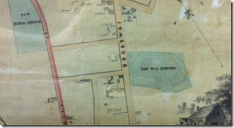 Oak Hill's Original Extent
