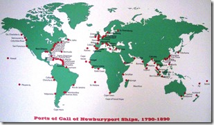 Port Trade Routes