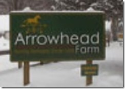 Arrowhead Farm Sign