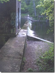 Artichoke River Nature Trail Dam