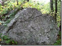 Front of the Devil's Pulpit Rock