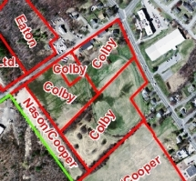 The Colby Farm Properties that could be used for Recreational Fields