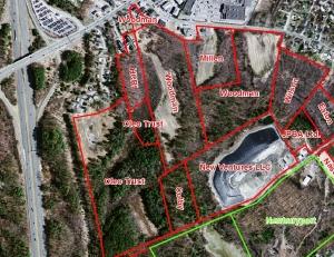 Woodman Property-CVS boundary lines