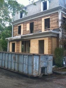 gutting on Fremont Street