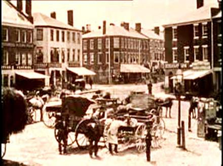 Market Square with Lamppost visible