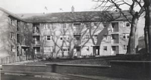 Nice tenement building