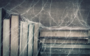 Cobwebs and books III