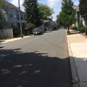 Prospect Street loss by having concrete rather than brick