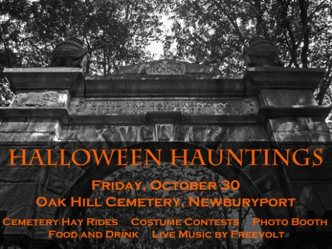 Halloween Happenings at Oak Hill Cemetery